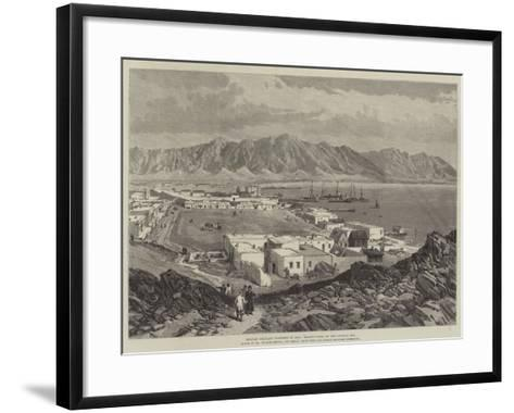 Russian Military Positions in Asia, Krasnovodsk, on the Caspian Sea-William 'Crimea' Simpson-Framed Art Print