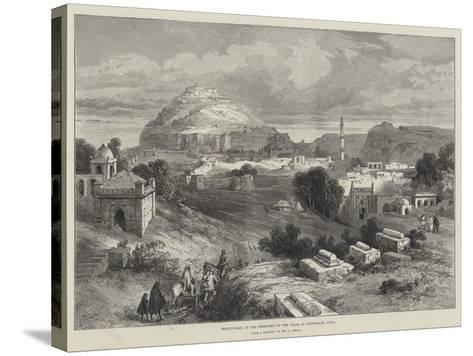 Dowlutabad, in the Territory of the Nizam of Hyderabad, India-William 'Crimea' Simpson-Stretched Canvas Print
