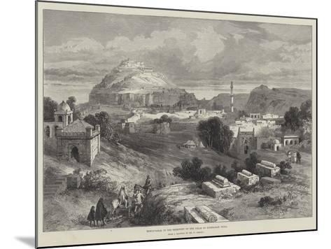 Dowlutabad, in the Territory of the Nizam of Hyderabad, India-William 'Crimea' Simpson-Mounted Giclee Print
