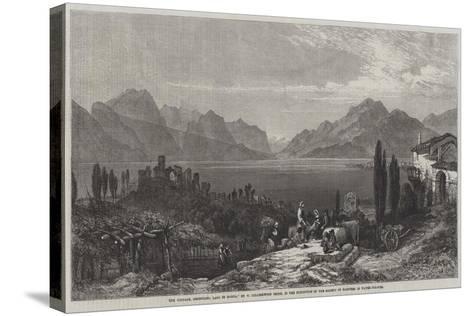 The Vintage, Desenzano, Lago Di Garda-William Harding Collingwood-Smith-Stretched Canvas Print