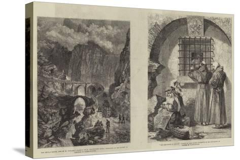 Fine Arts-William Harding Collingwood-Smith-Stretched Canvas Print