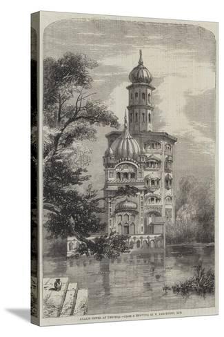 Akalis Tower at Umritzir-William Carpenter-Stretched Canvas Print