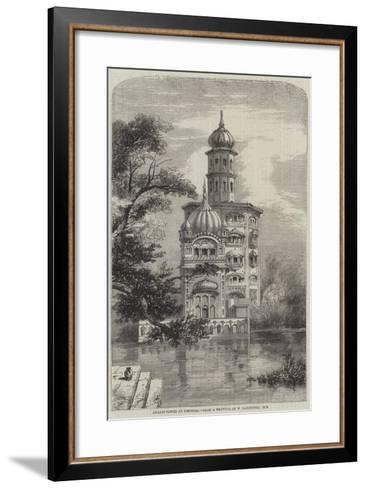 Akalis Tower at Umritzir-William Carpenter-Framed Art Print