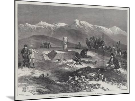 One of the New Afghan Boundary Pillars-William 'Crimea' Simpson-Mounted Giclee Print