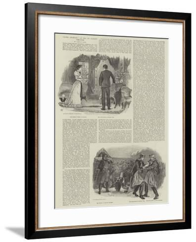 Lord Anerley, at the St James's Theatre-William Douglas Almond-Framed Art Print