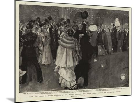 H R H the Prince of Wales's Reception at the Imperial Institute-William Hatherell-Mounted Giclee Print