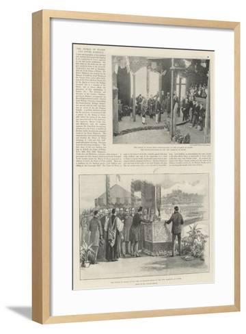 The Prince of Wales and Dover Harbour-William 'Crimea' Simpson-Framed Art Print