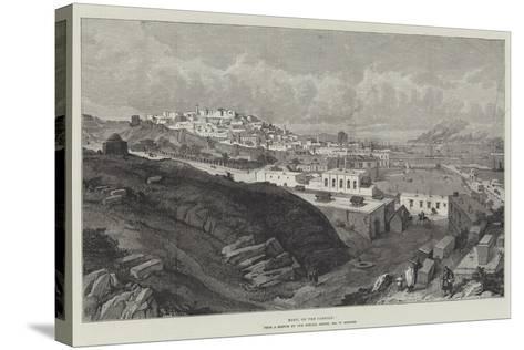 Baku, on the Caspian-William 'Crimea' Simpson-Stretched Canvas Print