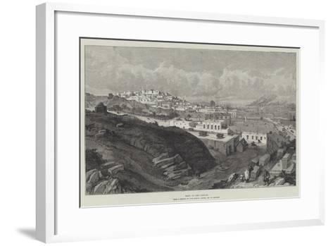 Baku, on the Caspian-William 'Crimea' Simpson-Framed Art Print