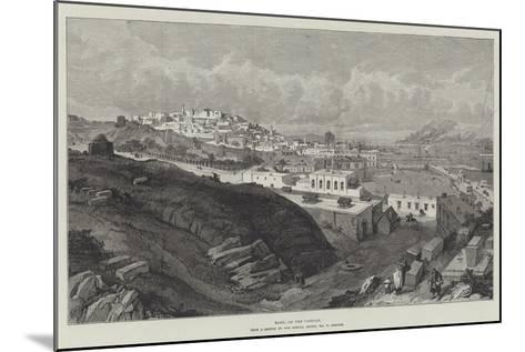 Baku, on the Caspian-William 'Crimea' Simpson-Mounted Giclee Print