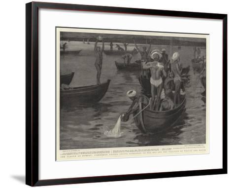 The Plague at Bombay-William Hatherell-Framed Art Print