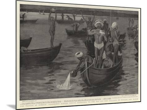 The Plague at Bombay-William Hatherell-Mounted Giclee Print