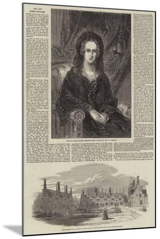 The Late Queen Dowager-William Charles Ross-Mounted Giclee Print