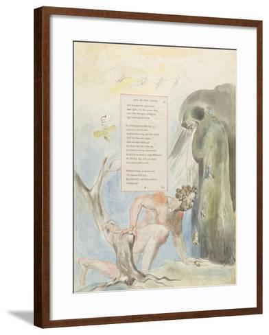 Ode on the Spring'-William Blake-Framed Art Print