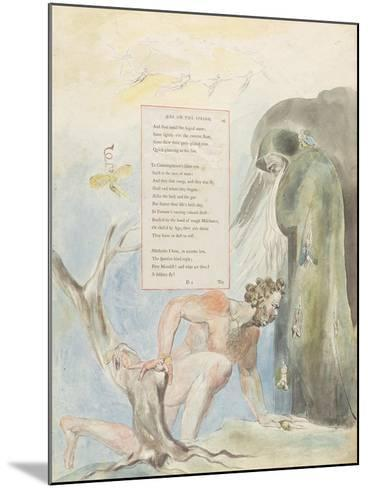 Ode on the Spring'-William Blake-Mounted Giclee Print