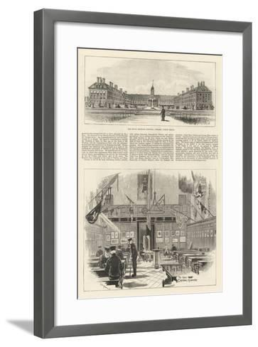 The Royal Military Hospital in Chelsea-William Douglas Almond-Framed Art Print