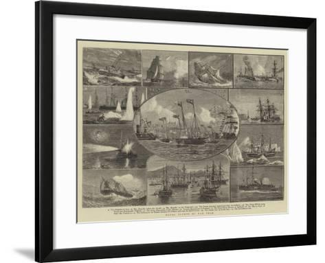 Naval Events of the Year-William Edward Atkins-Framed Art Print