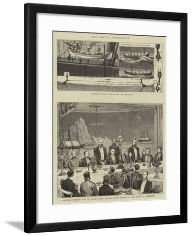 The Arctic Expedition-William Edward Atkins-Framed Art Print