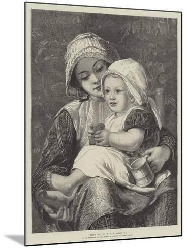 Baby's Tea-William Charles Thomas Dobson-Mounted Giclee Print