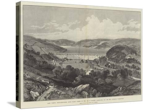 Lake Vyrnwy-William 'Crimea' Simpson-Stretched Canvas Print