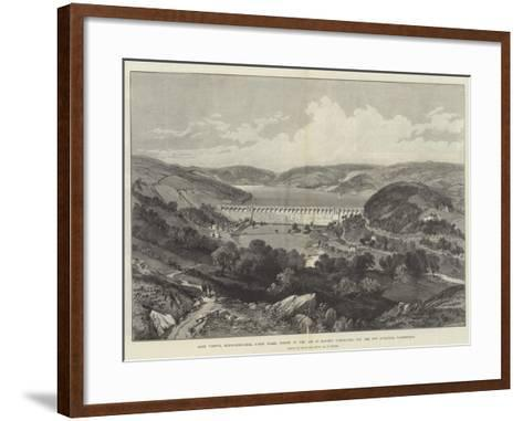 Lake Vyrnwy-William 'Crimea' Simpson-Framed Art Print