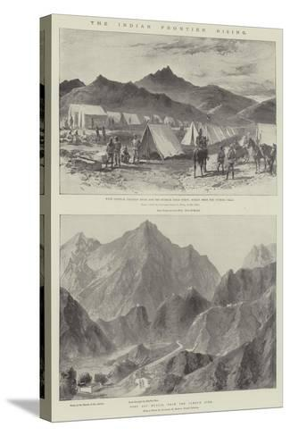 The Indian Frontier Rising-William Heysham Overend-Stretched Canvas Print