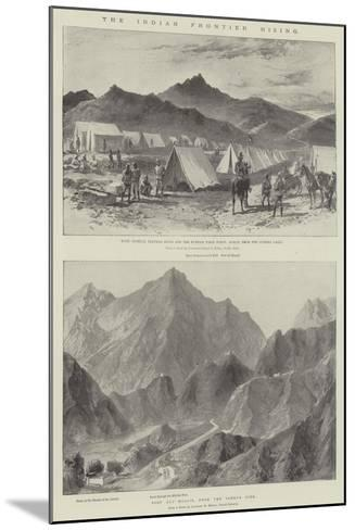 The Indian Frontier Rising-William Heysham Overend-Mounted Giclee Print