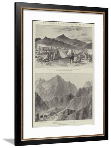 The Indian Frontier Rising-William Heysham Overend-Framed Art Print
