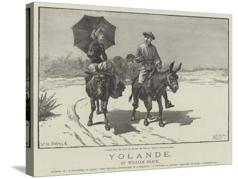 Yolande-William Heysham Overend-Stretched Canvas Print