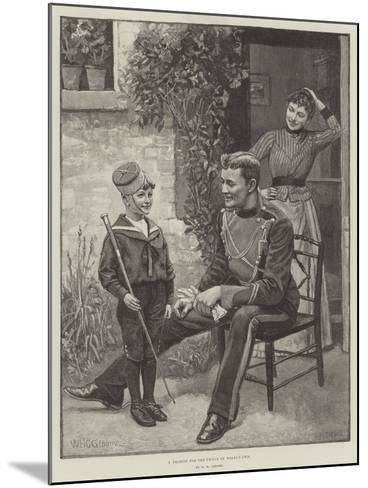 A Recruit for the Prince of Wales's Own-William Henry Charles Groome-Mounted Giclee Print
