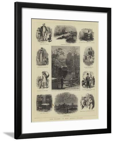 Our Village-William Henry James Boot-Framed Art Print