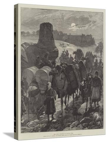 The Great Highway of Central Asia-William Heysham Overend-Stretched Canvas Print
