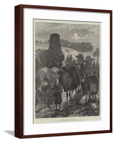 The Great Highway of Central Asia-William Heysham Overend-Framed Art Print