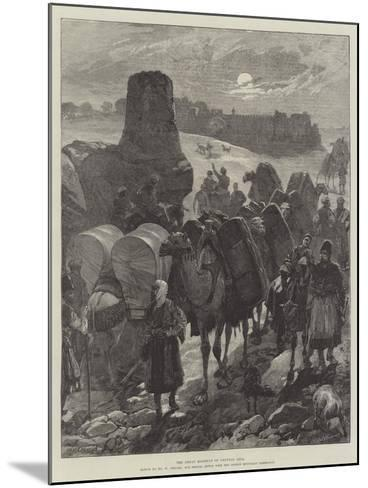 The Great Highway of Central Asia-William Heysham Overend-Mounted Giclee Print