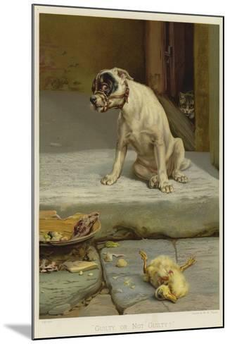 Guilty, or Not Guilty?-William Henry Hamilton Trood-Mounted Giclee Print