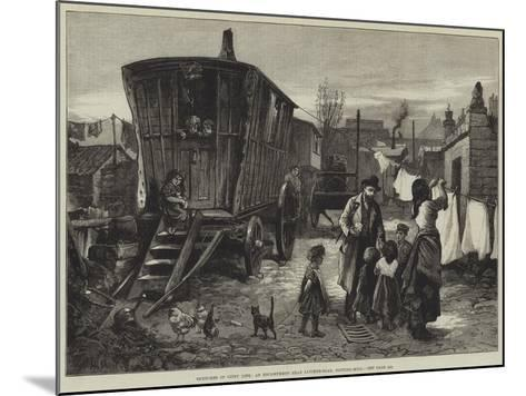 Sketches of Gipsy Life, an Encampment Near Latimer-Road, Notting-Hill-William Heysham Overend-Mounted Giclee Print