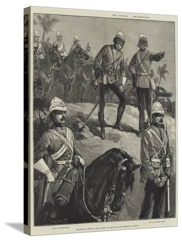 The War in Egypt, the Guards as Equipped for Service in Egypt-William Heysham Overend-Stretched Canvas Print