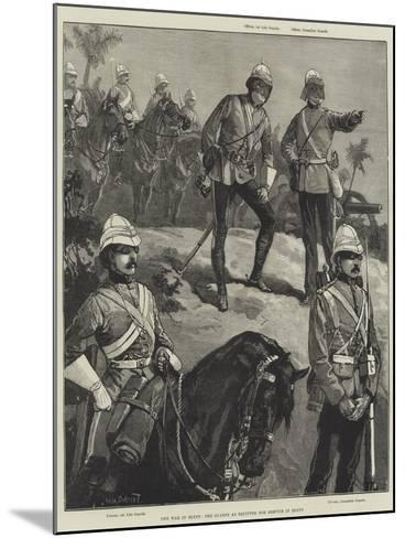 The War in Egypt, the Guards as Equipped for Service in Egypt-William Heysham Overend-Mounted Giclee Print