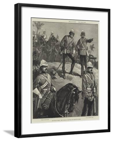 The War in Egypt, the Guards as Equipped for Service in Egypt-William Heysham Overend-Framed Art Print