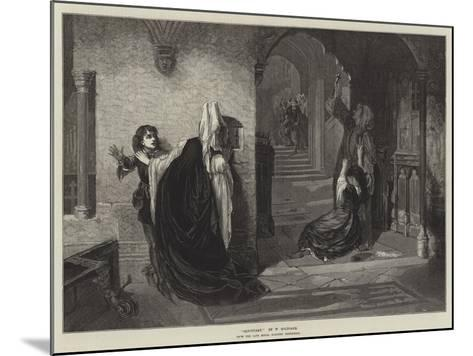 Sanctuary, from the Late Royal Academy Exhibition-William Holyoake-Mounted Giclee Print
