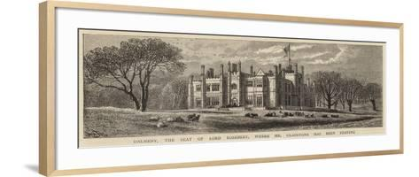 Dalmeny, the Seat of Lord Rosebery, Where Mr Gladstone Has Been Staying-William Henry James Boot-Framed Art Print