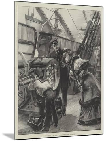 Inspecting a Big Gun, The Simplest Thing on Earth!-William Heysham Overend-Mounted Giclee Print