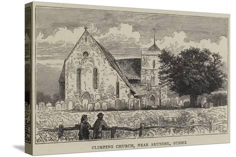 Climping Church, Near Arundel, Sussex-William Henry James Boot-Stretched Canvas Print