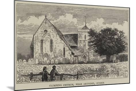 Climping Church, Near Arundel, Sussex-William Henry James Boot-Mounted Giclee Print