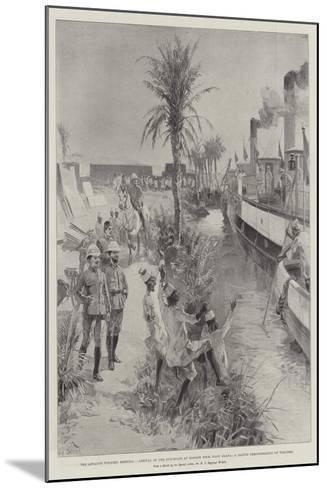 The Advance Towards Dongola-William Heysham Overend-Mounted Giclee Print