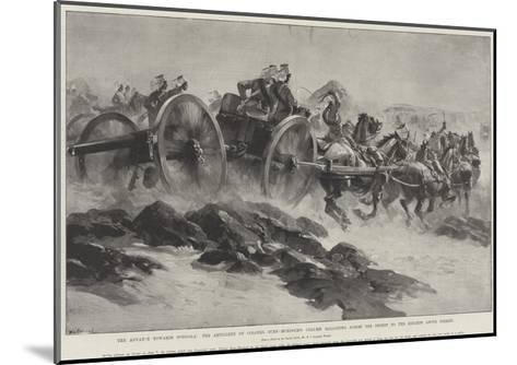 The Advance Towards Dongola-William Heysham Overend-Mounted Giclee Print