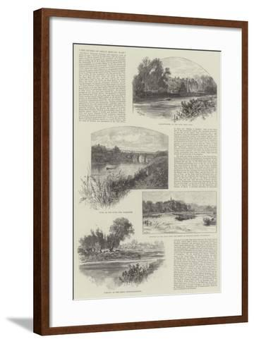 The Rivers of Great Britain, East-William Henry James Boot-Framed Art Print