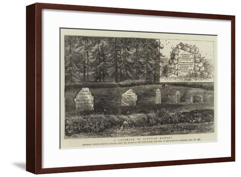 A Landmark of Scottish History-William Henry James Boot-Framed Art Print