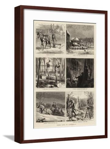 Farm Life in Canada, I-William Henry James Boot-Framed Art Print
