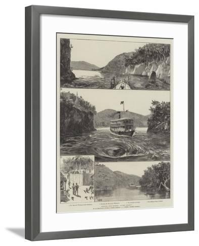 Sketches from Burmah, Up the Chindwin-William Heysham Overend-Framed Art Print